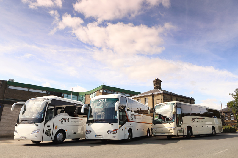 coaches for European coach trips