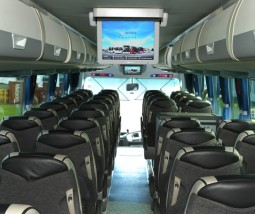 Coaches with TV