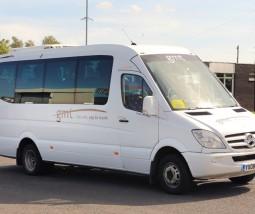 Sport minibus rental